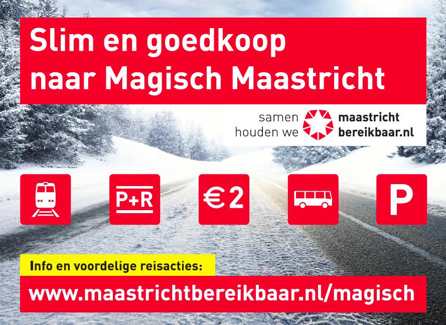 Slim en goedkoop naar Magisch Maastricht 2017